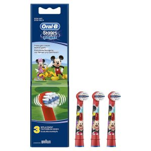 Têtes oral B mickey de rechange
